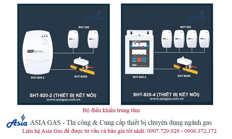 Bộ điều khiển trung tâm thiết bị gas Asia Gas