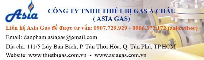 Chuyên cung cấp thiết bị phụ kiện vật tư ngành gas - Asia Gas