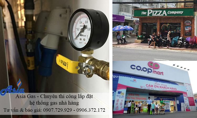 Chuyên lắp đặt hệ thống gas nhà hàng TPHCM - ASIA GAS