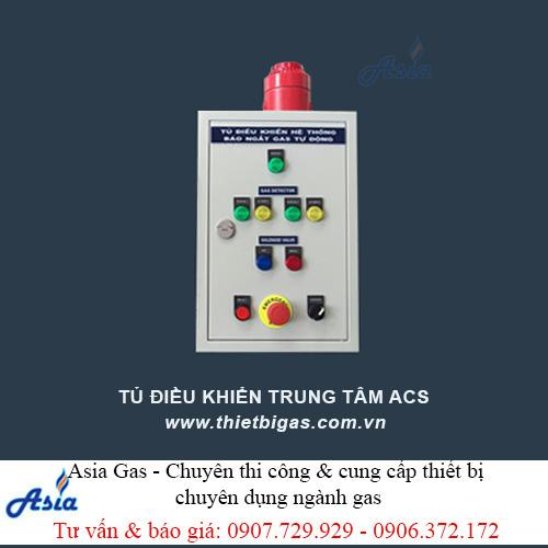 Tủ điều khiển trung tâm gas đóng ngắt van điện từ ACS