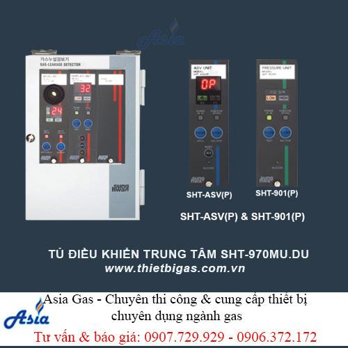 Tủ điều khiển trung tâm gas 1 đến 16 đầu dò SHT-970MU DU