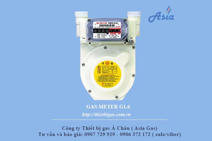 Đồng hồ đo lưu lượng gas G1.6 Keuk Dong Hàn Quốc