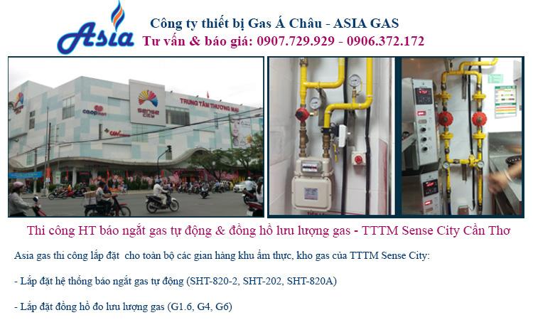 thi công lắp đặy hệ thống gas kho gas trung tâm thương mại siêu thị